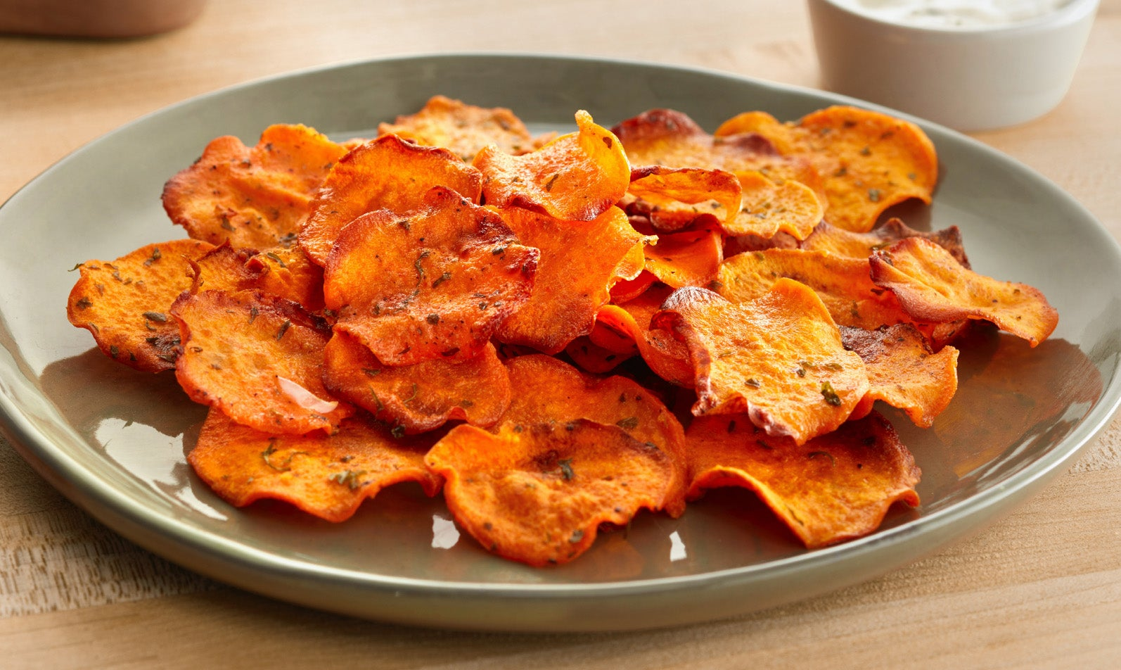 Ranch Sweet Potato Crisps & Works of Art