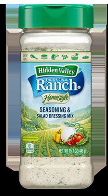 Homestyle Seasoning & Salad Dressing Mix Shaker