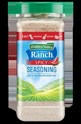 Hidden Valley® Original Ranch® Spicy Seasoning & Salad Dressing Mix Shaker