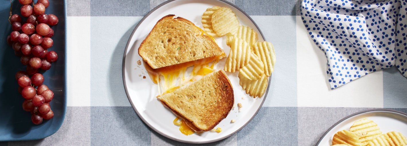 Kicked-Up Ranch Grilled Cheese