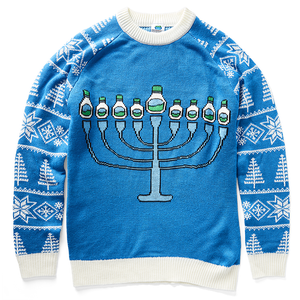 Blue Holiday Sweater