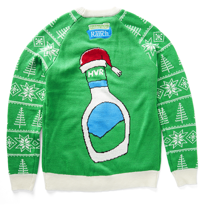 Green Holiday Sweater