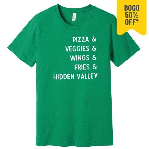 green bff t-shirt