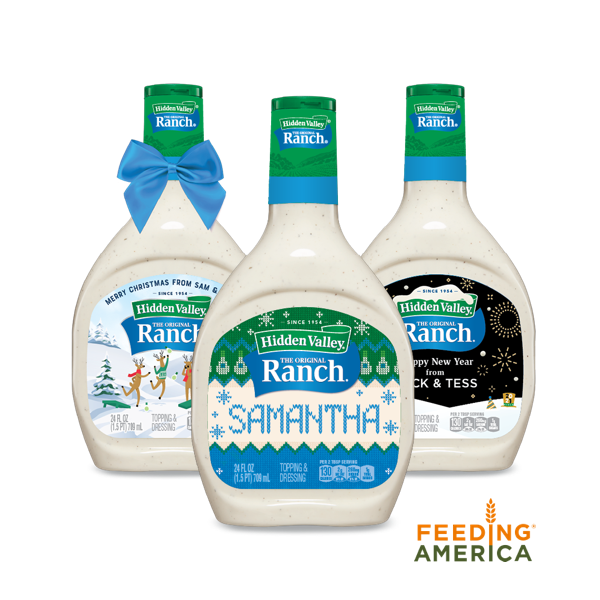 personalized ranch bottles
