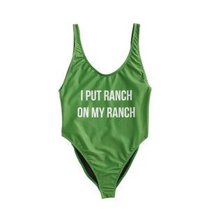 Hidden Valley® Ranch Women's One Piece Swimsuit