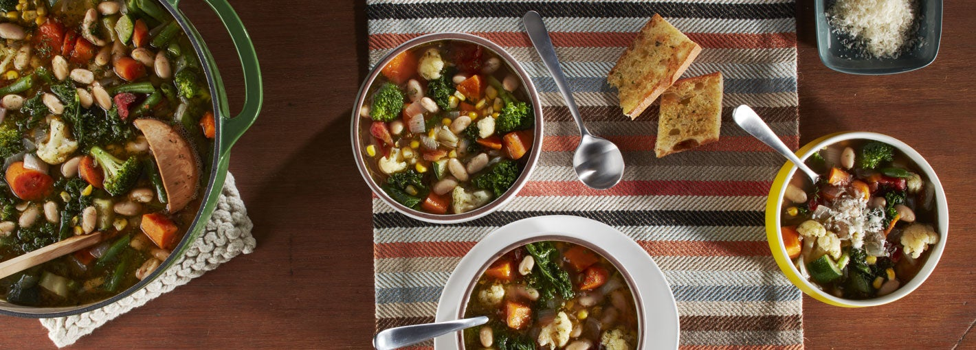 Leftover Vegetable Soup Recipe with Ranch