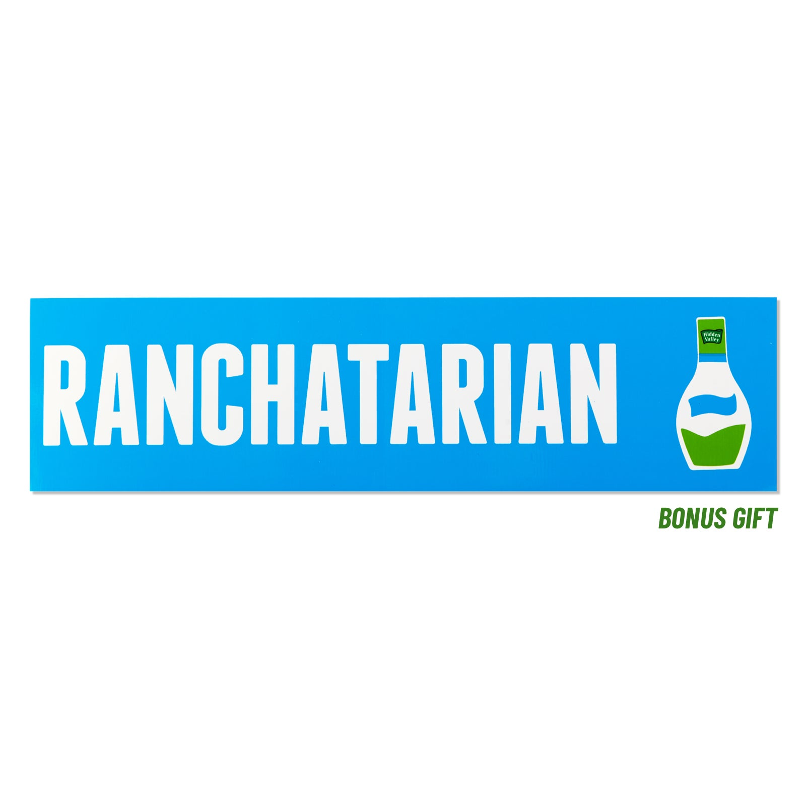 ranch sticker bonus gift