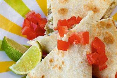 Ranch Baked Quesadillas & Science Experiments for Kids