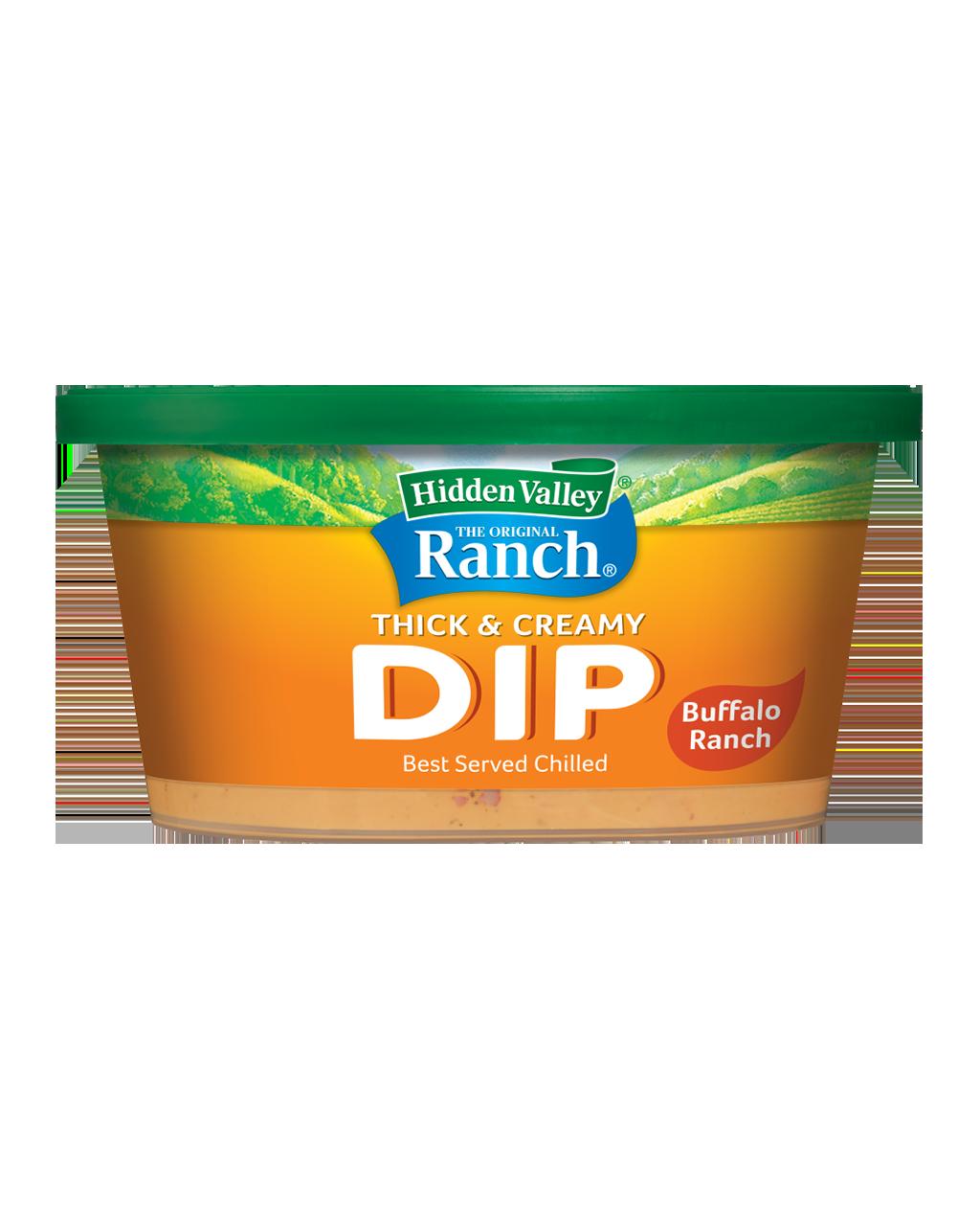 Hidden Valley® Buffalo Ranch Thick & Creamy Dip