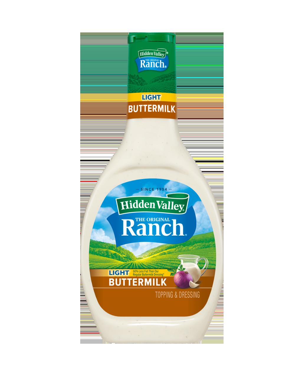 Hidden Valley® Buttermilk Ranch Light Topping & Dressing