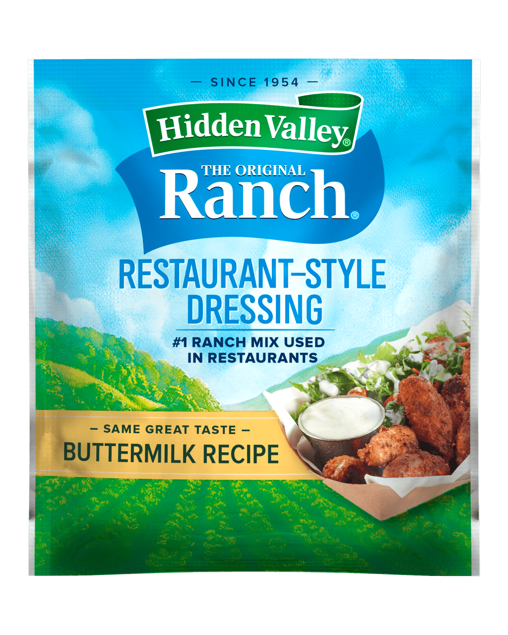 Hidden Valley® Buttermilk Recipe Restaurant-Style Dressing & Seasoning Mix