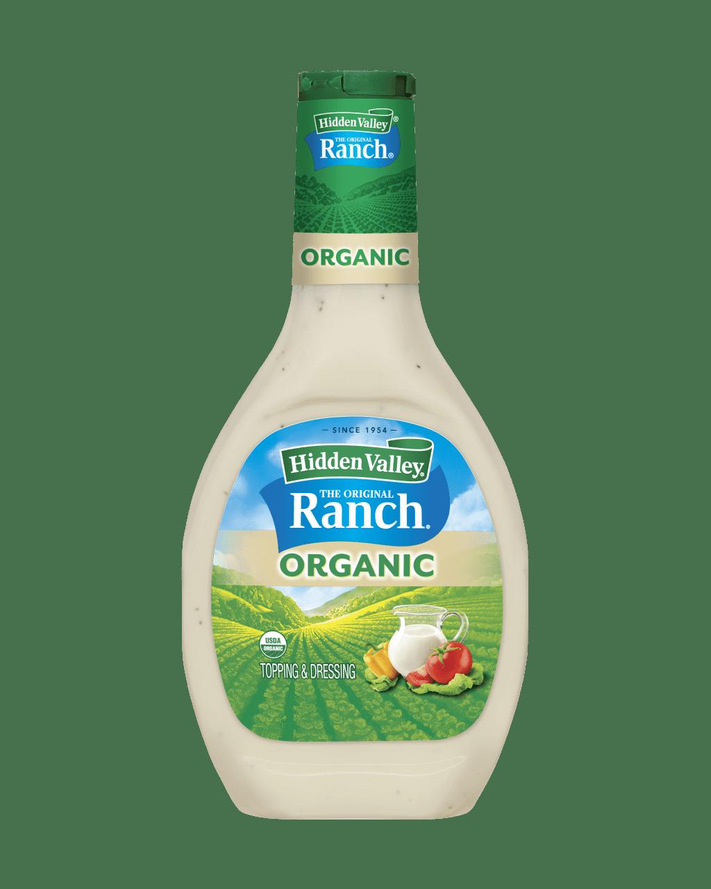Hidden Valley® Original Ranch® Organic Topping & Dressing
