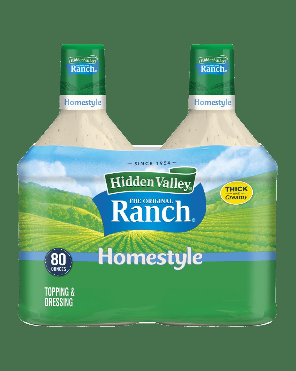 Hidden Valley® Original Ranch® Homestyle Topping & Dressing