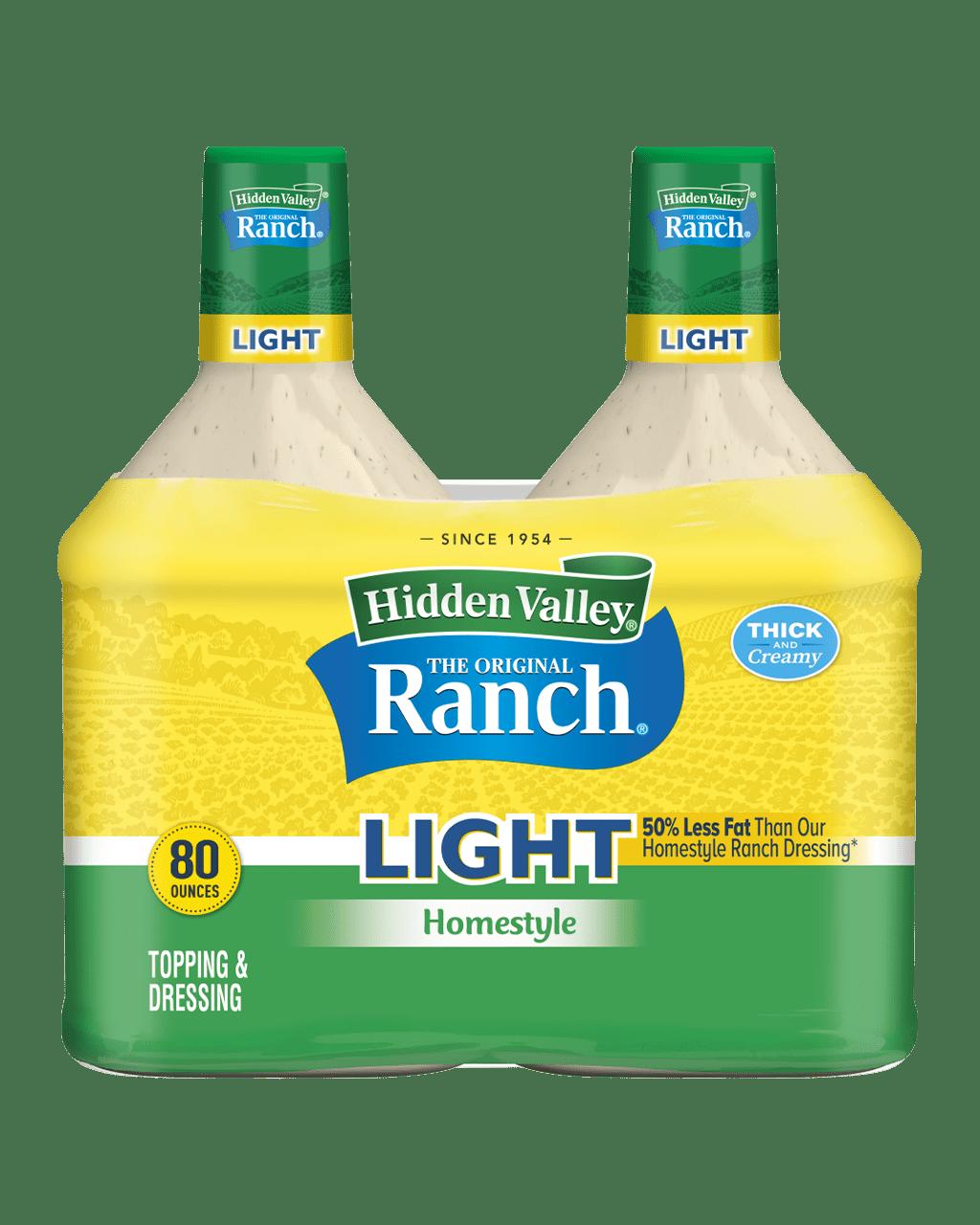 Hidden Valley® Original Ranch® Homestyle Light Topping & Dressing