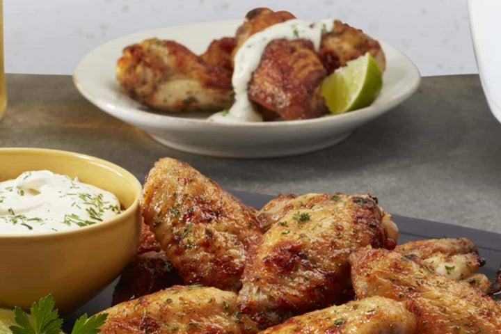 Air Fryer Ranch Chicken Wings