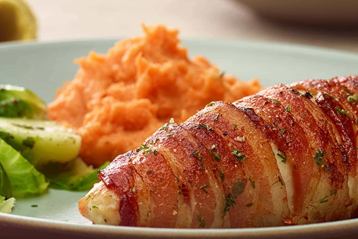 Bacon-Wrapped Ranch Chicken