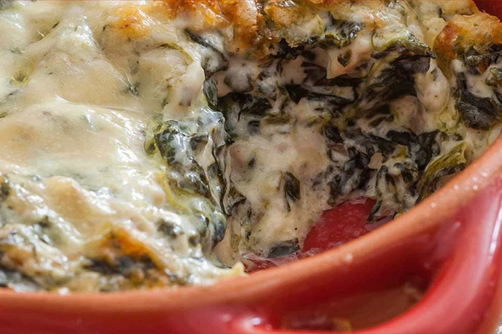 Baked Spinach and Chicken Dip