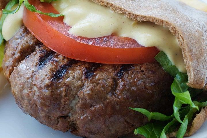BBQ Burger Pocket