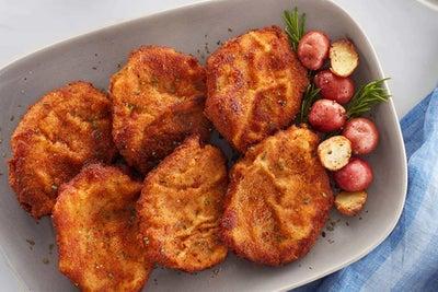 Breaded Ranch BBQ Fried Pork Chops