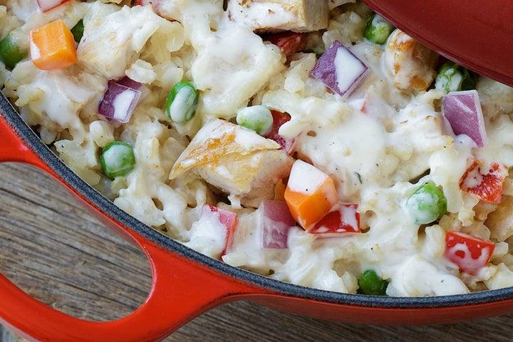 Brown Rice & Turkey Casserole