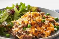 Cheesy Ground Beef and Rice Casserole Recipe