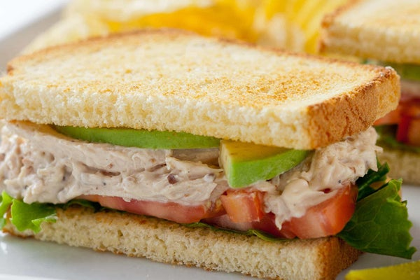Chicken Bacon Club Sandwiches