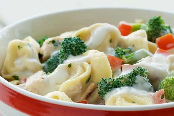 Cold Tortellini Chicken Salad