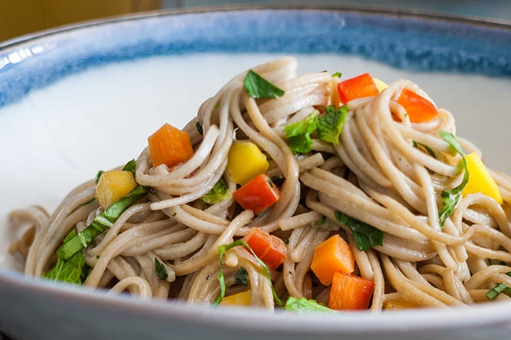 Confetti Soba Noodle Salad