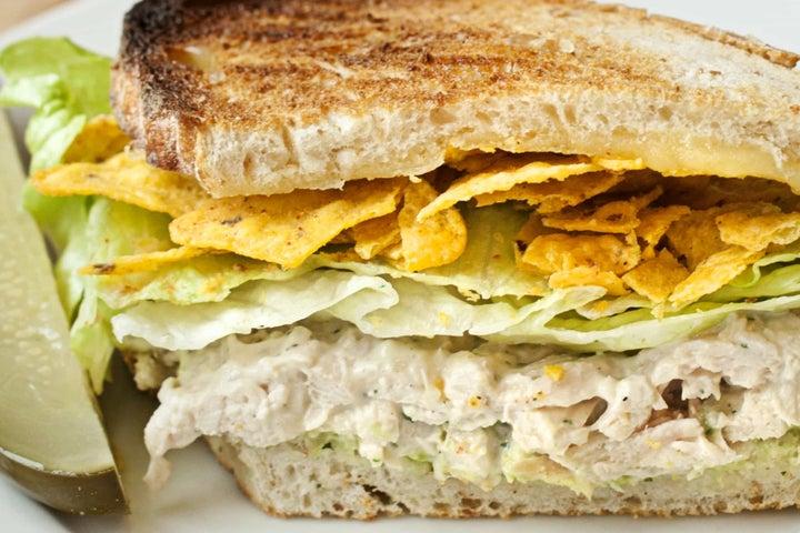 Cool Ranch Chicken Salad Sandwich