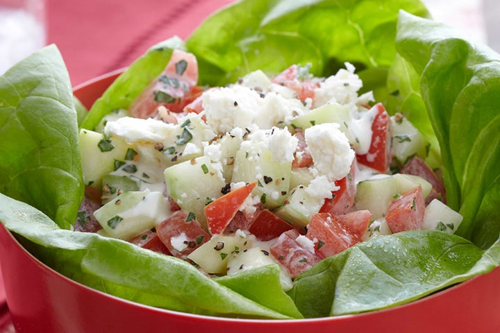 Cool Cucumber and Tomato Salad