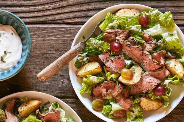 Cowboy Ranch Flank Steak Salad