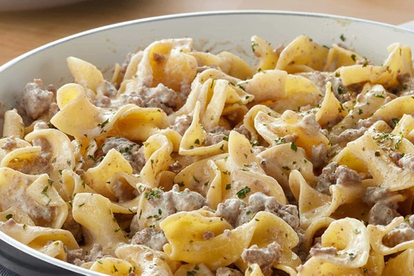Creamy Ranch Beef and Noodles