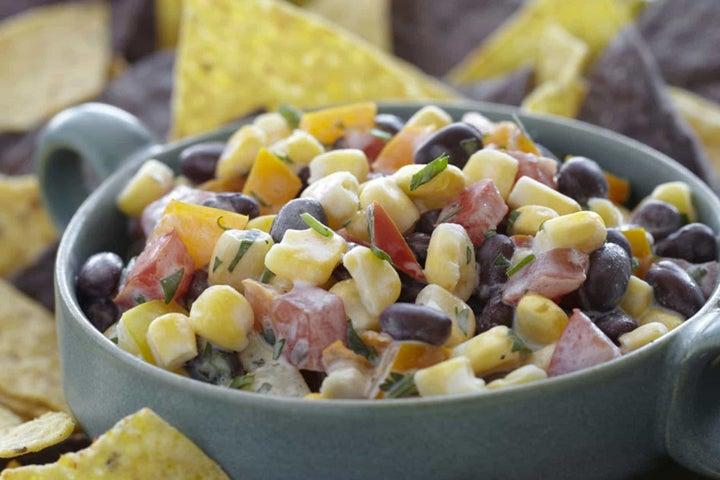 Creamy Black Bean and Corn Salsa