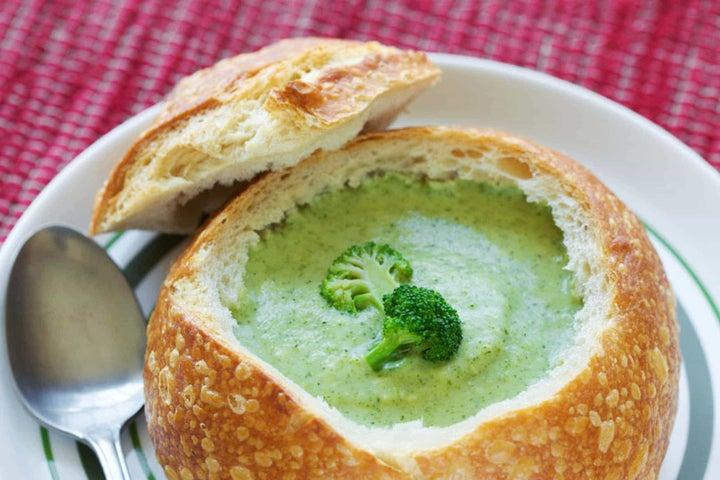 Creamy Ranch Broccoli Soup