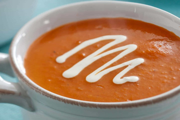 Creamy Ranch Tomato and Roasted Pepper Soup