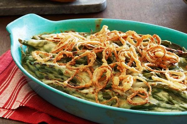 Crispy Onion Green Bean Casserole