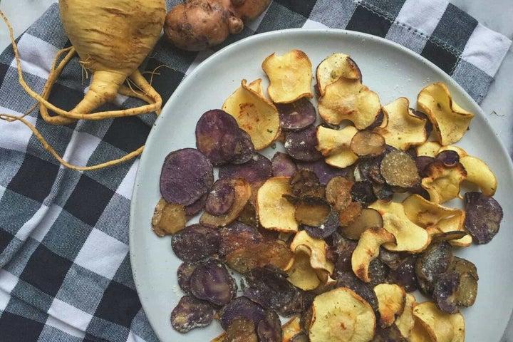 Crunchy Ranch Potato Chips