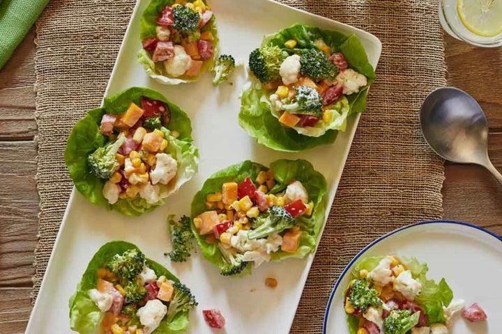 Crunchy Vegetable and Cheddar Salad