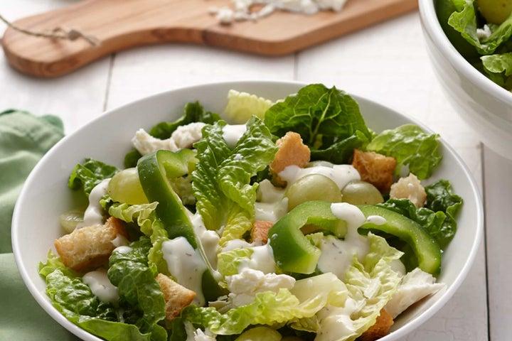 Ranch Cucumber and Feta Salad