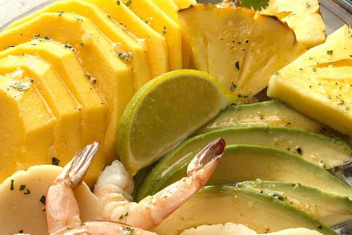 Curried Caribbean Seafood Salad