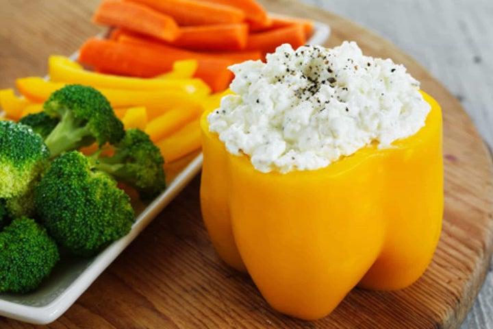 Festive Ranch Cheese Vegetable Dip