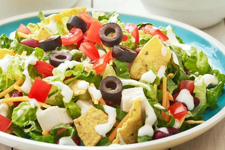 Fiesta Tortilla Chicken Salad