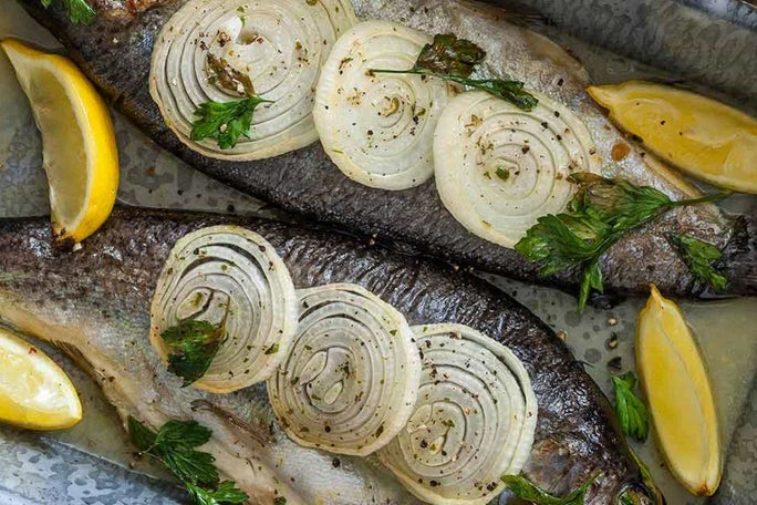 Fresh Grilled Ranch Trout