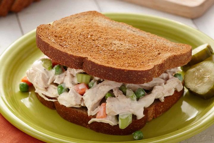 Garlic Chicken Salad Sandwiches