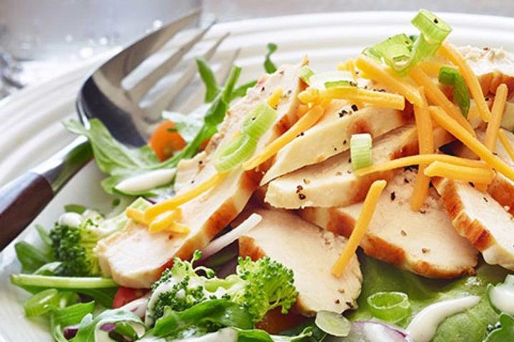 Garden Patch Salad With Chicken