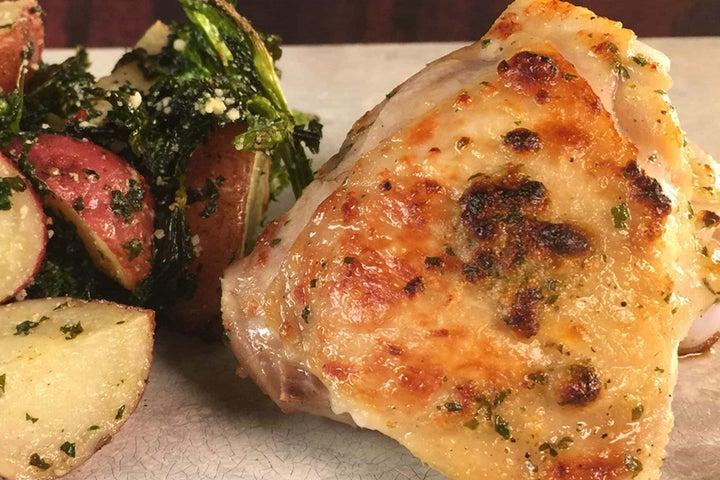 Garlic Parmesan Ranch Chicken with Potatoes