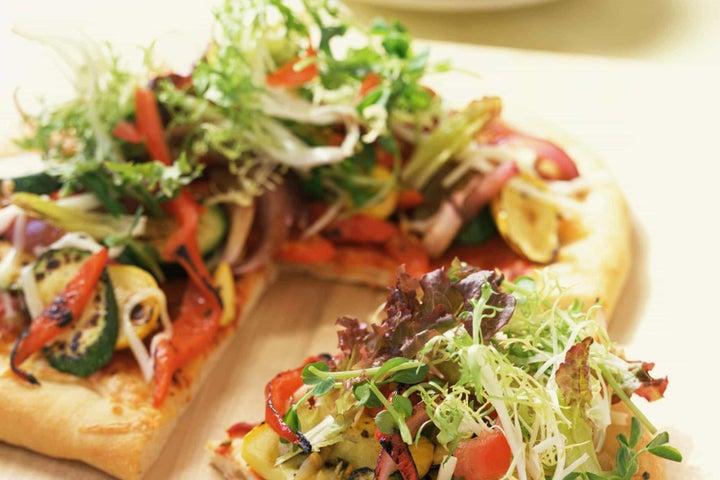 Greens Galore Pizza