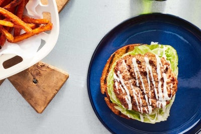 Grilled Turkey Burgers with Ranch Seasoning