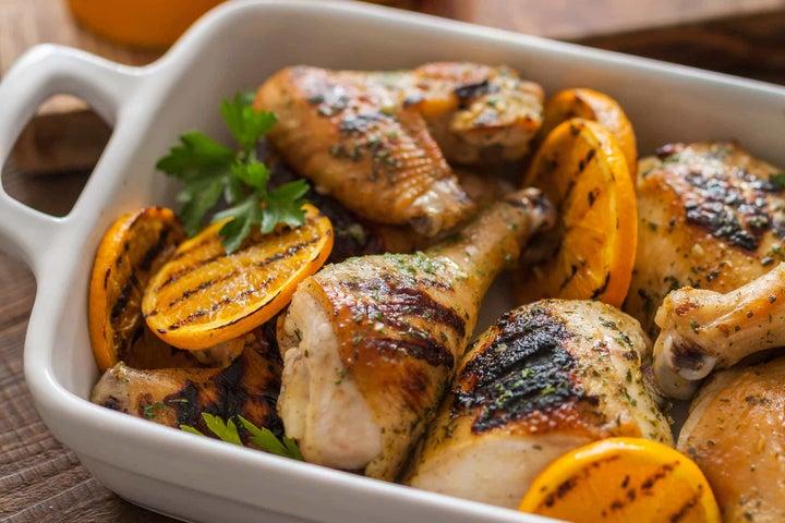 Ranch Grilled Chicken Orange Dijon Marinade