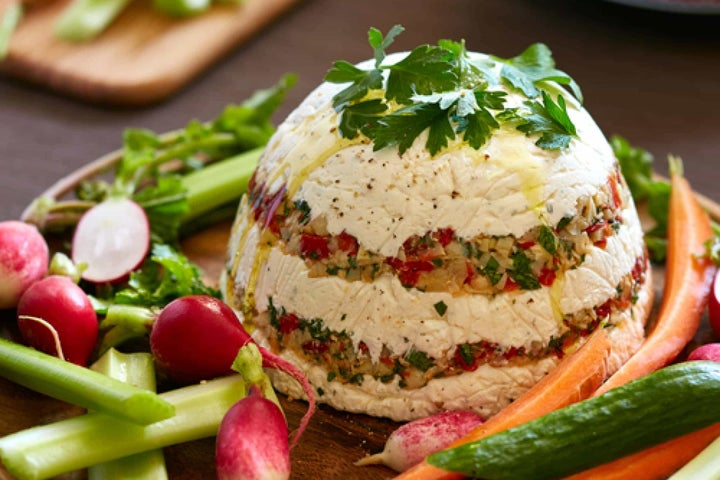 Ranch Layered Artichoke and Roasted Pepper Spread